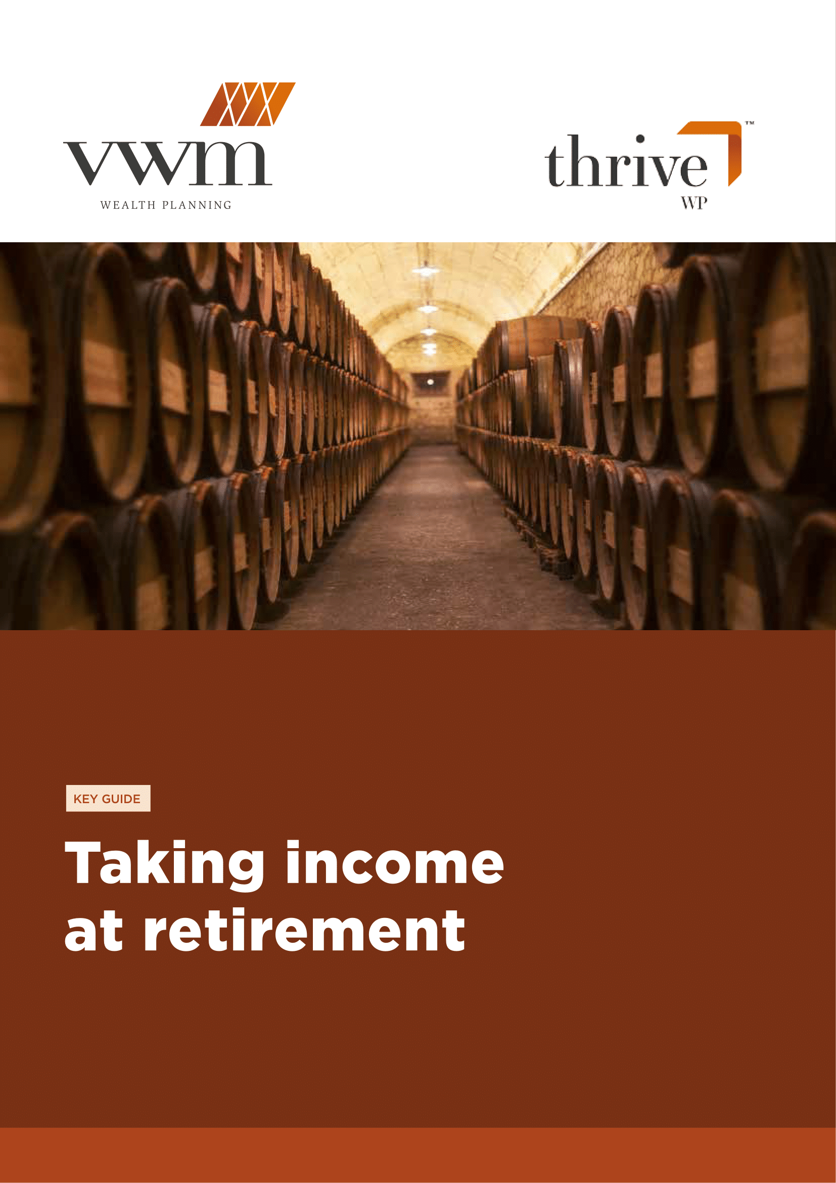Taking Income at Retirement